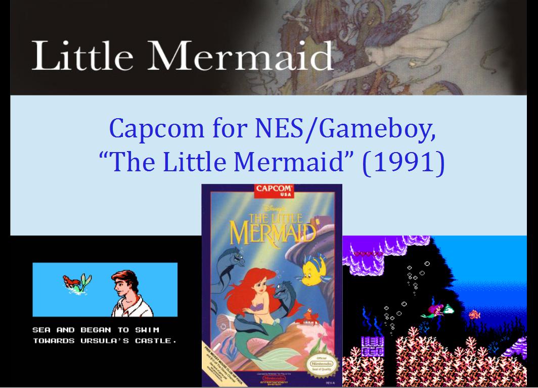 Mermaids in Video Games