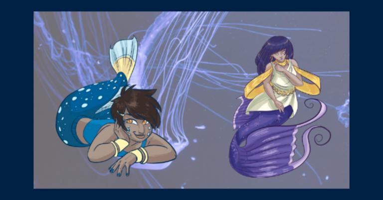 Mermaids of Colour