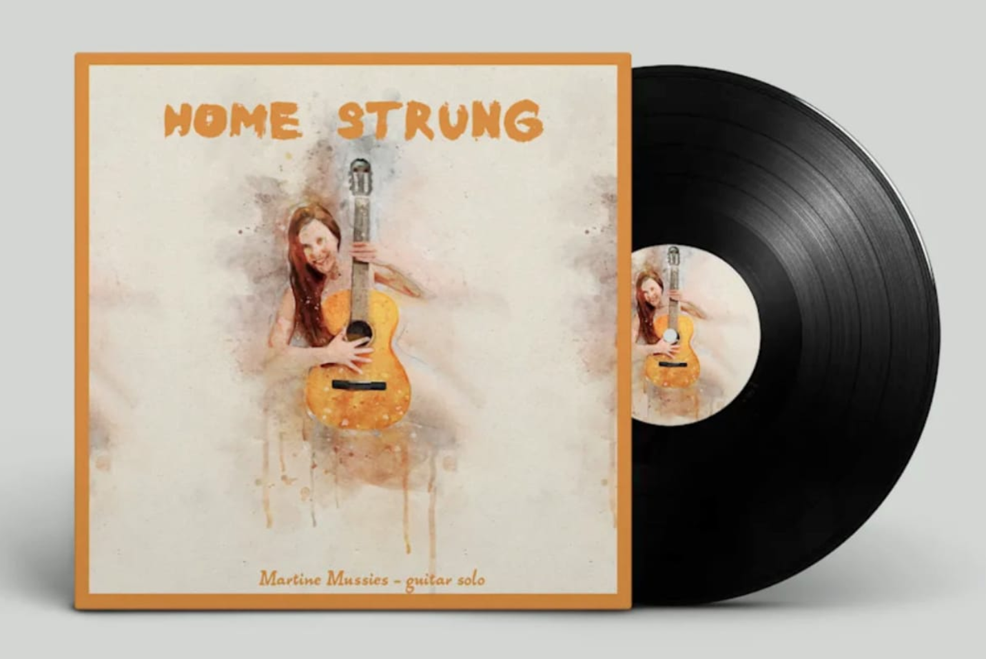 Home Strung – the naked guitar